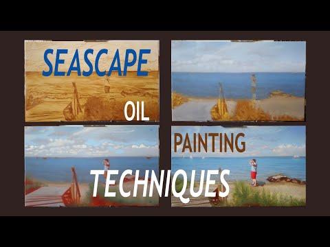 Time-lapse of 19th Century Landscape Oil Painting Technique