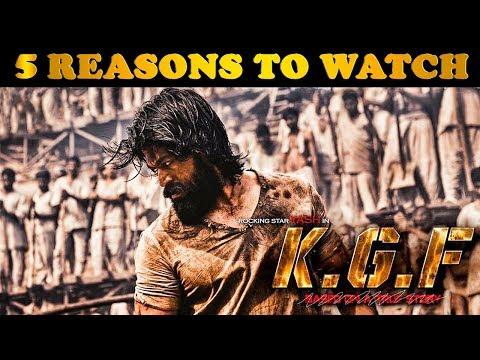 5 Reasons To Watch KGF   Yash   Prashanth Neel