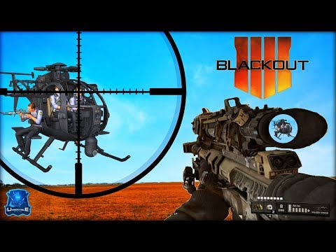 """BEST """"SNIPING"""" PLAY'S In BLACKOUT!! (COD BO4 Blackout Sniper Gameplay)"""