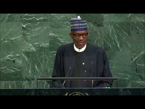 President Buhari of Nigeria: 72nd United Nations General Assembly Speech: NY: 19 September 2017