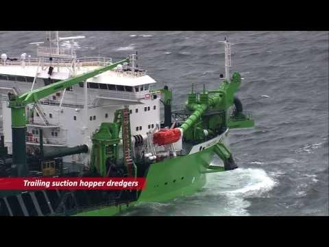 IHC Merwede dredging