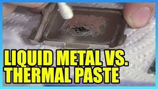 Intel's Thermal Problem Pt1: 7900X Liquid Metal vs. Thermal Paste