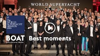 Highlights from the World Superyacht Awards 2016