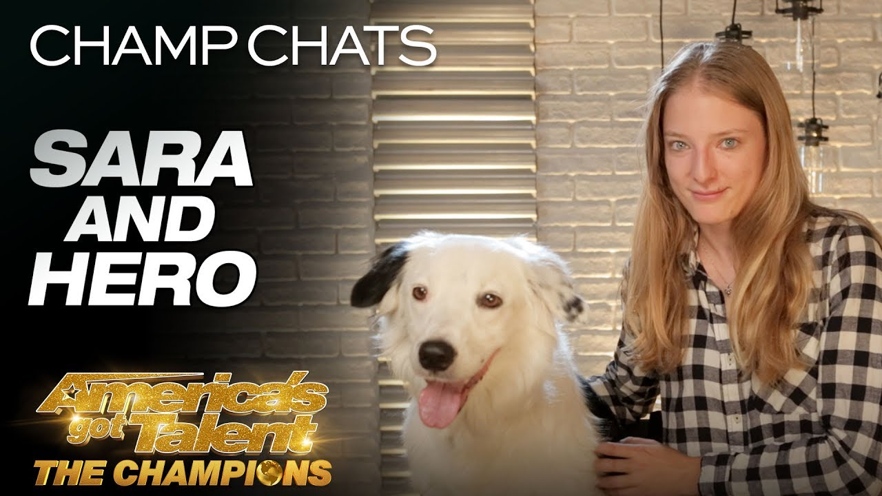 Sara and Hero Revisit Their Paws-itively Amazing Tricks - America's Got Talent: The Champions