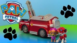 Paw Patrol On a Roll Marshall and Skye Fire Truck for Children