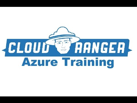 Microsoft Azure Training - [1] Series Introduction (Exam 70-533)
