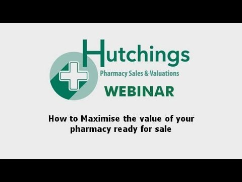 How to Maximise the Value of your Pharmacy ready for Sale