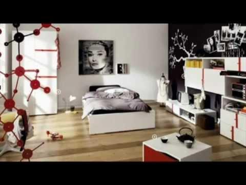 Ellendess luxury design chambres de filles design youtube for Chambre de filles