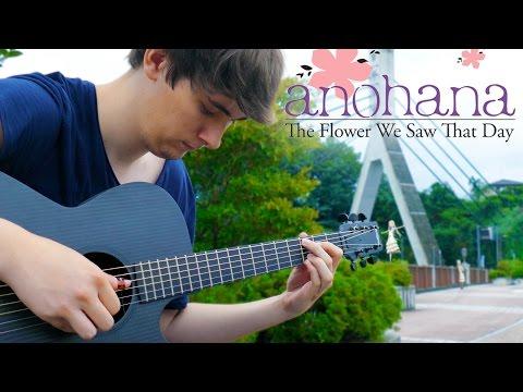 Anohana ED – Secret Base [Fingerstyle Guitar Cover by Eddie van der Meer]
