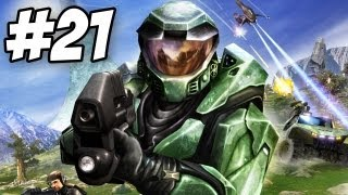 Halo: Combat Evolved Walkthrough | The Maw | Part 21 - Ending (Xbox/PC)