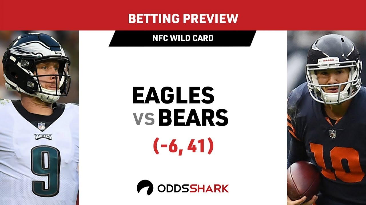 eagles bears line betting