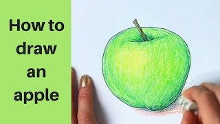 Beginners - How to Draw an Apple