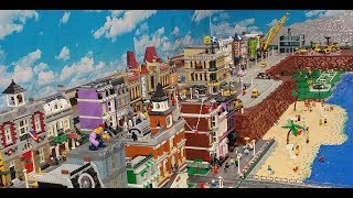 Lego City Update - 400 sq ft, 1066 minifigs