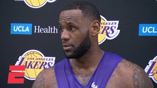 LeBron James says Lakers need a consistent 48-minute game   NBA Sound