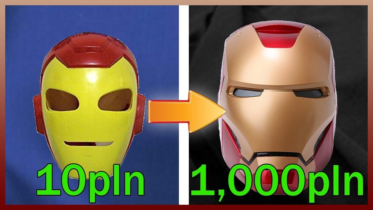 10ZŁ IRON MAN VS 1000ZŁ IRON MAN