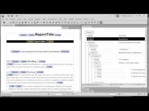 FrameMaker and DITA: EDD Format Rules mirror Paragraph Designer