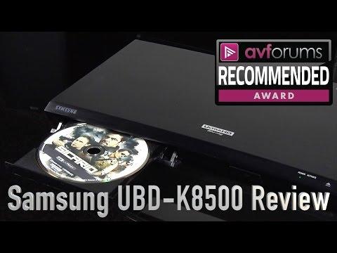 Samsung UBD K8500 4K UHD Blu ray Player Review