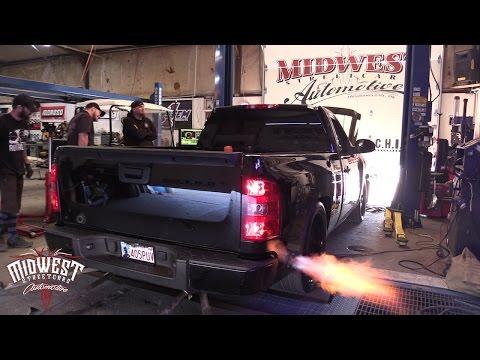 Big Chief's shop truck project Part 2: Aeromotive fuel system, Nitrous Express, Dyno