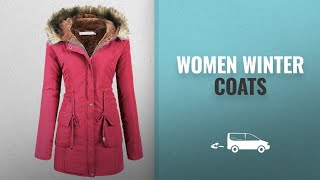 Top 10 Women Winter Coats, Jackets & Vests: Beyove Womens Military Hooded Warm Winter Faux Fur Lined