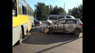 Автолюбитель пострадал в аварии по вине водителя хабаровского автобуса. MestoproTV