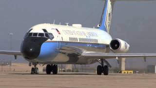 "Castle Receives A VC-9 ""Air Force One"""