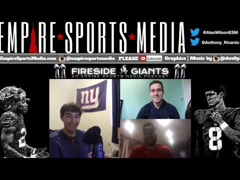 Fireside Giants Ep. 37 (Recap Week 1 Loss with Offensive Line Analyst Matt Giannettino)