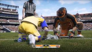 Casey Powell Lacrosse 16 Full Match Gameplay (AI vs AI)