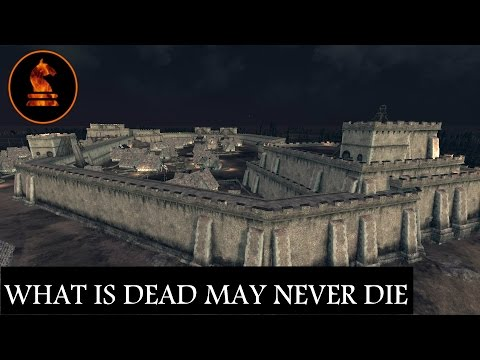 Total War Attila Seven Kingdoms Mod - The Iron Lady and The Flayed Man