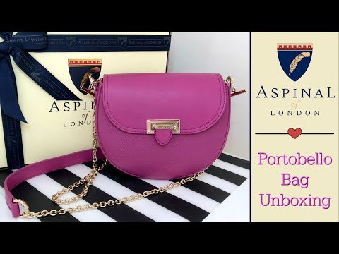 c2c7b9851b Aspinal of London Unboxing | Portobello Bag | *Major Quality Issues*