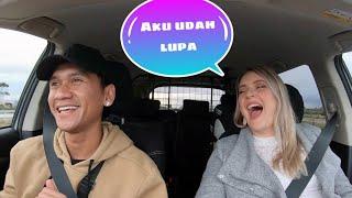 Istriku Bule Australia belajar ngomong Bahasa Indonesia | Auto ngakak 😂😂😂
