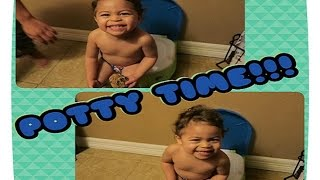 Baby Jase is Potty Training!! | BWWM & AMBW FAMILY VLOG #140 - Sharron's Take