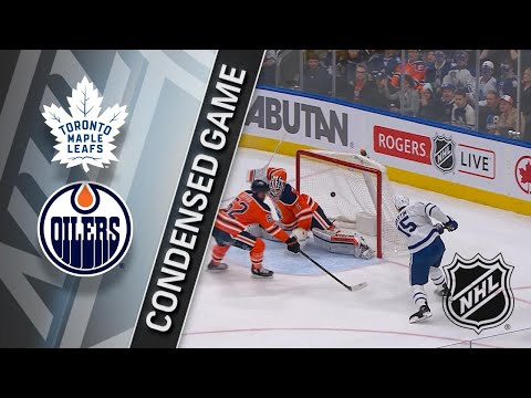 11/30/17 Condensed Game: Maple Leafs @ Oilers