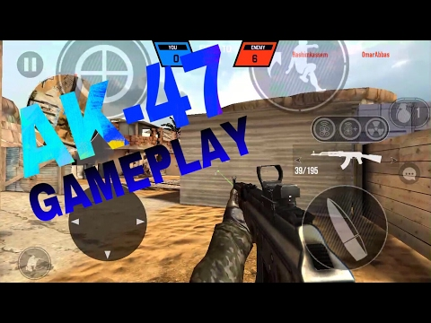 BULLET FORCE AK47 GAMEPLAY