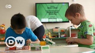 HIV pozitif ve negatif çocuklar birlikte büyüyor - DW Türkçe