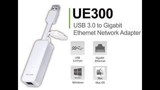 Unboxing Tp-Link USB 3.0 to Gigabit Ethernet Network adapter