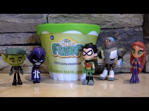 Teen Titans GO! Fall into Slime Stuff from ORB Slimy Butteri FLUFF!