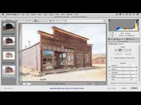 Create an HDR image in Camera Raw