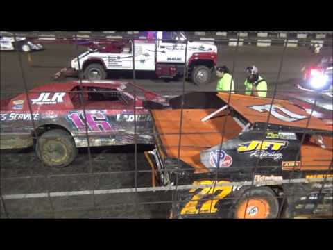 Salina Speedway *Mid America Clash 4* M&H Motors IMCA Northern Sport Mod AQ Feat 10-1-16