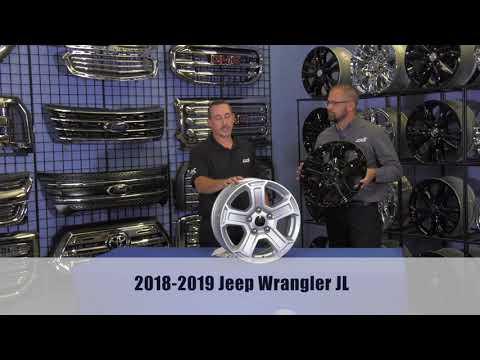 INSTALLATION: IMP420BLK Impostor Series Wheel Skins for the Jeep Wrangler