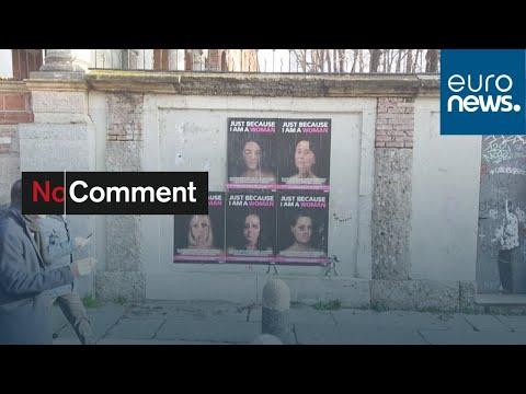 شاهد: وجوه معنفة لشخصيات سياسية عالمية من إخراج فنان إيطالي…  - 22:58-2020 / 1 / 16