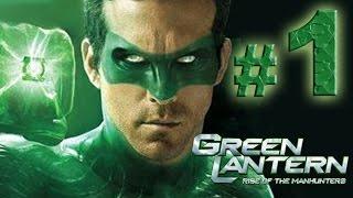 Green Lantern : Rise of the Manhunters - Invasión - En dificultad Caballero Esmeralda - Parte 1