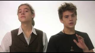 Repeat youtube video International Ambassadors Dylan and Cole Sprouse/Koyamada Foundation