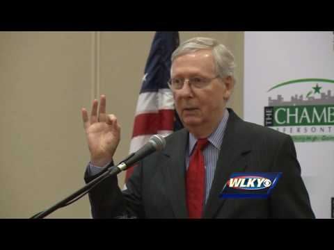 Complete video: Mitch McConnell speaks in Jeffersontown