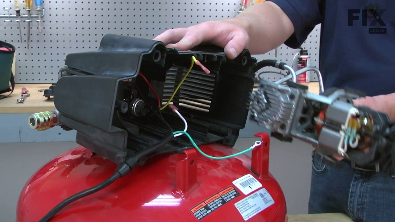 porter cable compressor repair how to replace the cylinder head [ 1280 x 720 Pixel ]