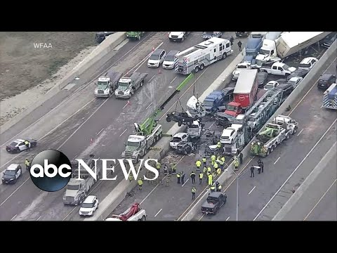 Ice storm causes deadly crashes | …