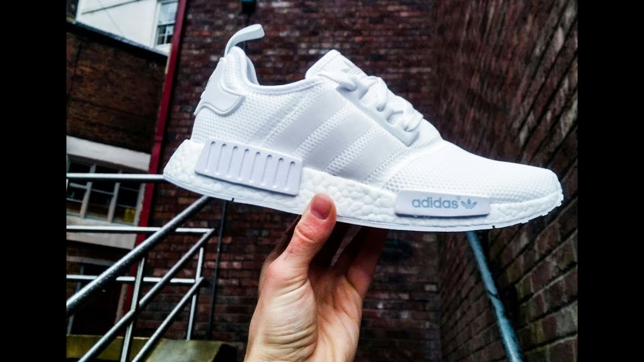 unboxing adidas nmd triple white 4k jt williams youtube. Black Bedroom Furniture Sets. Home Design Ideas