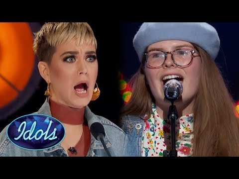 Original Song SHOCKS Katy Perry! Catie Turner Sings About MEN On American Idol 2018