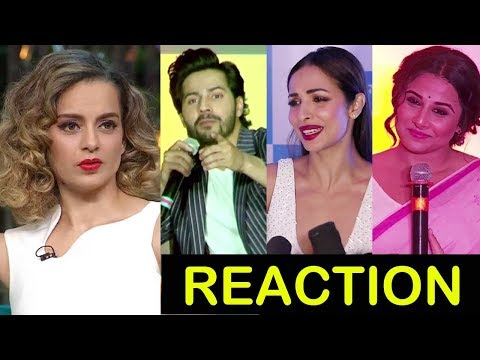 Bollywood Celebs Reaction On Kangana's Nepotism Comment On Koffee With Karan Season 5