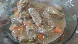 Печень в мультиварке Печень говяжья запеченная в сметанном соусе