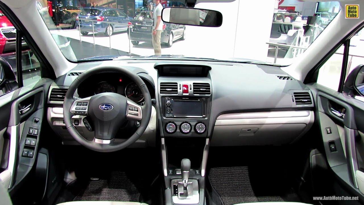 2014 Subaru Forester Interior Walkaround 2012 Los Angeles Auto Show Youtube